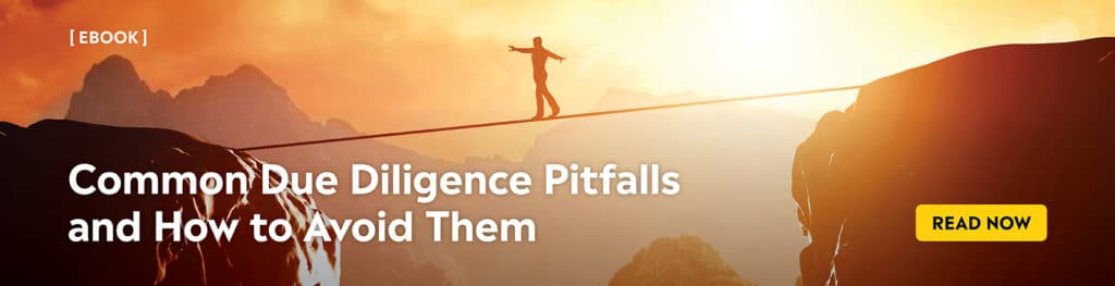due diligence pitfalls