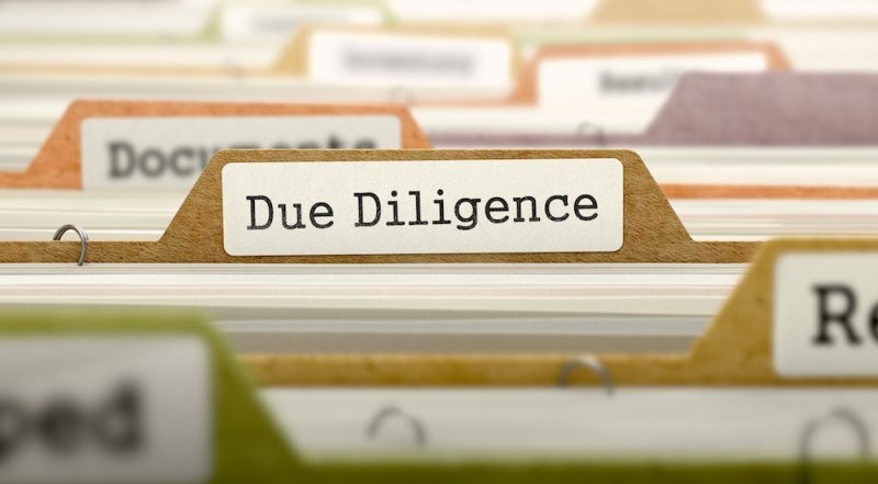 Third Party Due Diligence