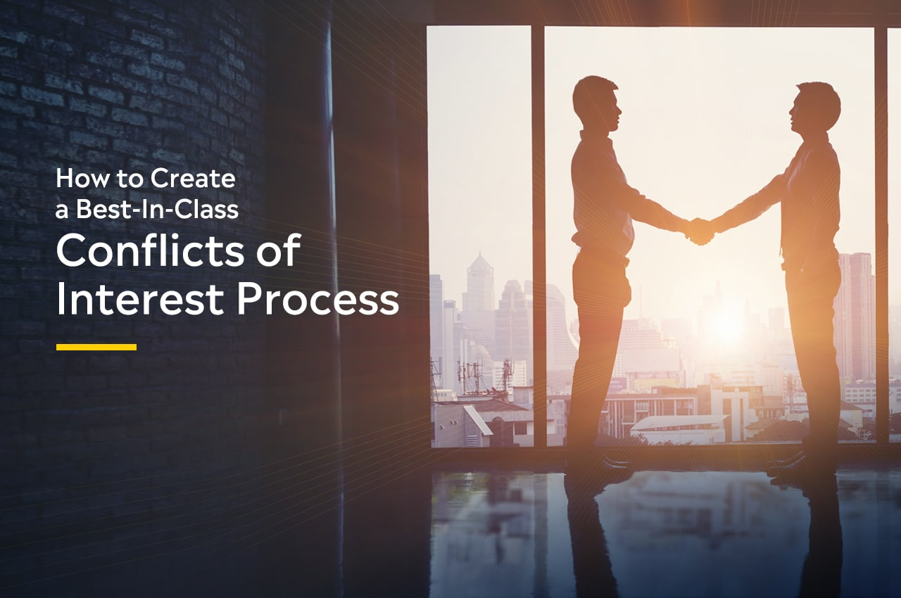 Best-In-Class Conflicts of Interest Process